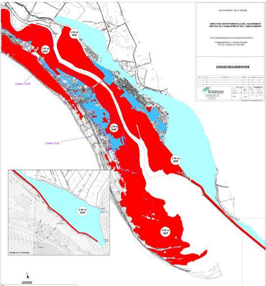 la faute sur mer carte PPRI : une