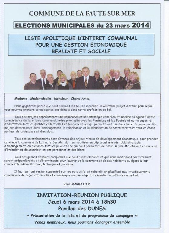 Liste Apolitique D Interet Communal Pour Une Gestion Economique